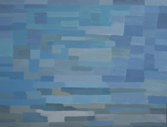 10. Méditerranée - août 2018 - huile sur toile 89x116