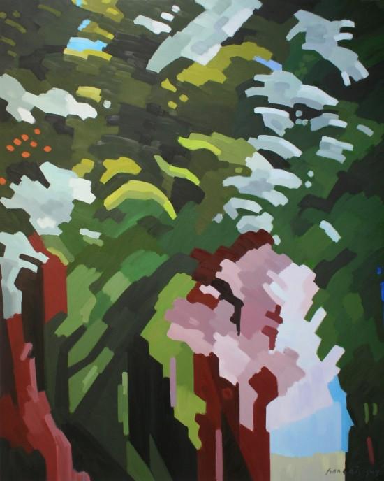 26. La grande forêt - Avril 2019 - 162x130